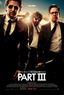 Movie release poster for The Hangover 3, courtesy Warner Bros. Pictures
