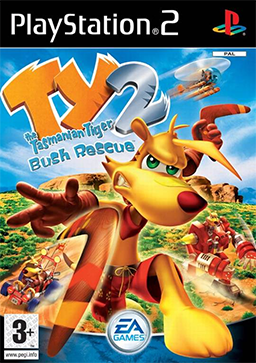 Ty the Tasmanian Tiger 2 - Bush Rescue Coverart.png