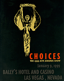 16th AVN Awards program cover, 1999.jpg