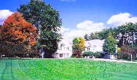 Arnold Hall Conference Center in  Massachusetts: Opus Dei's spiritual training activities include seminars, workshops, retreats, and spiritual direction.
