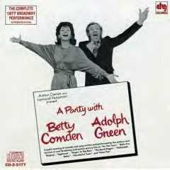 <i>A Party with Betty Comden and Adolph Green</i> musical