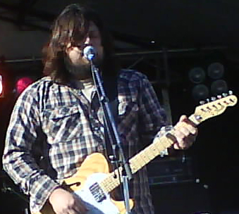 The Dear Hunter vocalist Casey Crescenzo performing at Soundwave in Melbourne 2008. Dearhuntersoundwave08.jpg