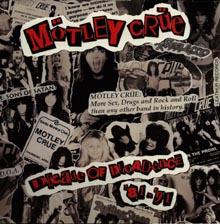 <i>Decade of Decadence 81-91</i> 1991 compilation album by Mötley Crüe