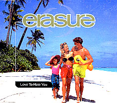 Erasure — Love to Hate You (studio acapella)