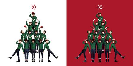 Exo Christmas Album Cover.Miracles In December Wikipedia