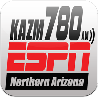 KAZM news/talk radio station in Sedona, Arizona, United States
