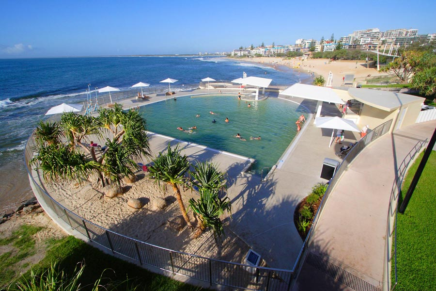 Kings beach queensland wikipedia for Pool design sunshine coast