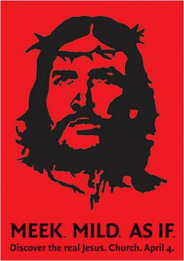 The 1999 Che Jesus poster