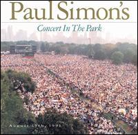 Paul Simon's Concert in the Park artwork