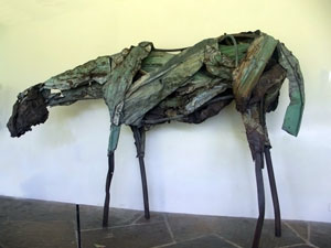 'Nahele', metal sculpture by --Deborah Butterfield--, 1986, --The Contemporary Museum, Honolulu--.jpg