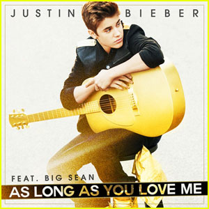 Justin Bieber featuring Big Sean — As Long as You Love Me (studio acapella)