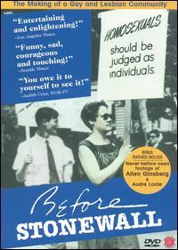 <i>Before Stonewall</i> 1984 documentary film by Greta Schiller and Robert Rosenberg