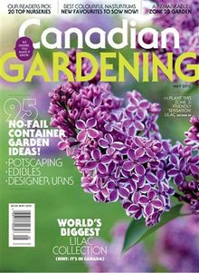 May 2010 cover of Canadian Gardening