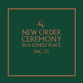 New Order - Ceremony single cover