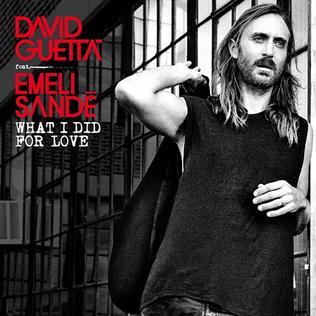 David Guetta featuring Emeli Sandé — What I Did for Love (studio acapella)