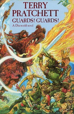 <i>Guards! Guards!</i> Discworld novel by Terry Pratchett