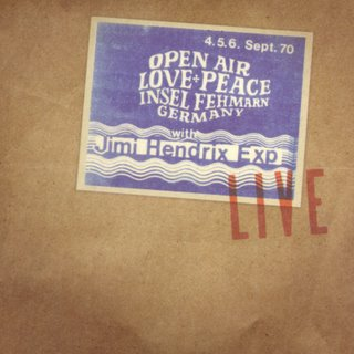 <i>Live at the Isle of Fehmarn</i> 2005 live album by The Jimi Hendrix Experience