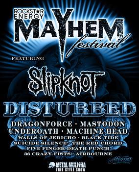 Rockstar Energy Drink Mayhem Festival | Facebook