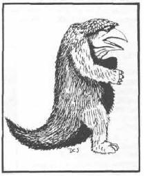 """Owlbear fictional creature in """"Dungeons and Dragons"""""""