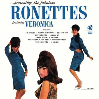 …presenting the fabulous Ronettes, featuring Veronica.