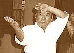 Seigi Nakamura Okinawan karateka