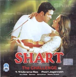 <i>Shart: The Challenge</i> 2004 film directed by Puri Jagannadh