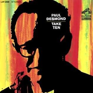 <i>Take Ten</i> 1963 studio album by Paul Desmond