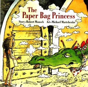 Image result for the paper bag princess