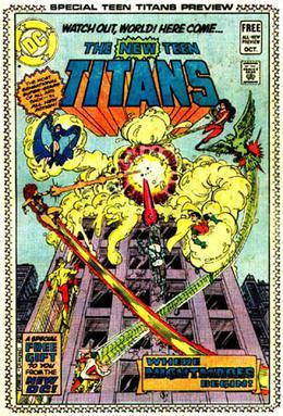 DC Comics insert previews - Wikipedia