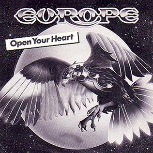 Open Your Heart (Europe song) single by Swedish band Europe