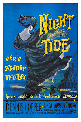 Dennis Hopper Cult Horror movie poster print 2 1961 Night Tide