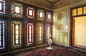 The room in the Bab's house in Shiraz where he declared his mission to Mulla Husayn. Room-bab.jpg