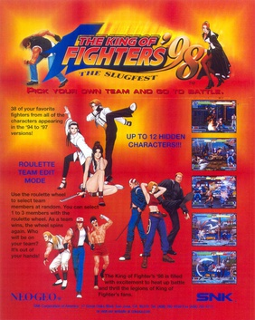 The King Of Fighters 98 Wikipedia
