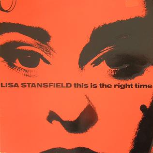 This Is the Right Time single by Lisa Stansfield