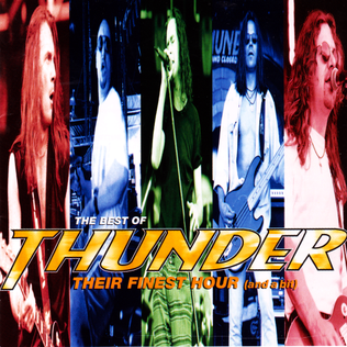 <i>The Best of Thunder: Their Finest Hour (And a Bit)</i> 1995 compilation album by Thunder