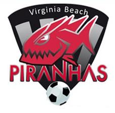 Virginia Beach Piranhas soccer team from Virginia Beach, Virginia, United States