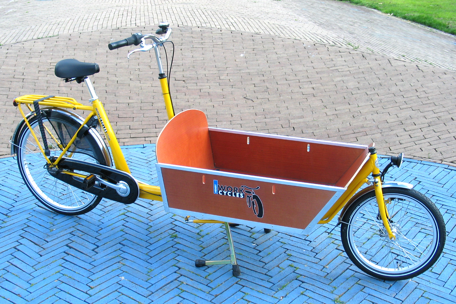 Bikes At Work Trailer Box bicycle from Amsterdam