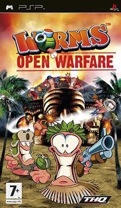 ผลการค้นหารูปภาพสำหรับ worms open warfare psp