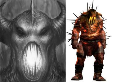 Hades In God Of War Left And The Reimagined Appearance Introduced II Right