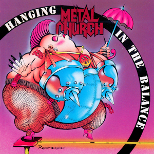 <i>Hanging in the Balance</i> 1993 studio album by Metal Church