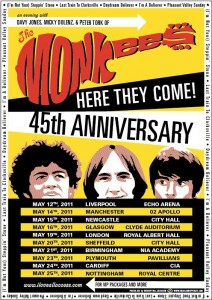 The Monkees Tour Dates