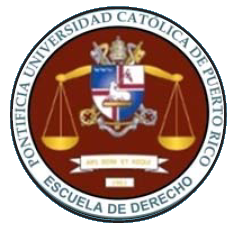 Pontifical Catholic University of Puerto Rico School of Law University in Ponce, Puerto Rico