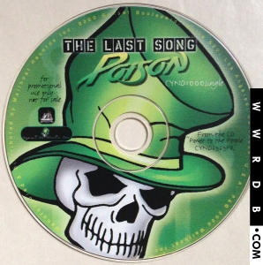 The Last Song (Poison song) 2000 single by Poison