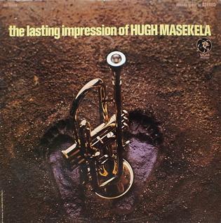 <i>The Lasting Impression of Hugh Masekela</i> 1968 live album by Hugh Masekela
