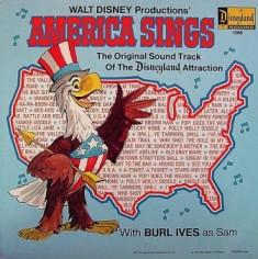 America Sings former attraction at Disneyland