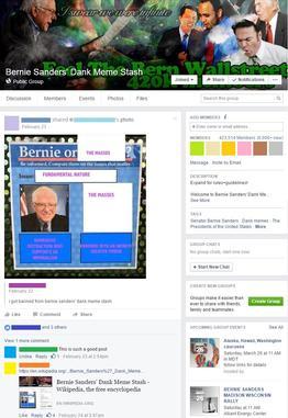 Bernie Sanders Dank Meme Stash Wikipedia