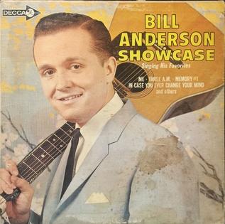 <i>Showcase</i> (Bill Anderson album) 1964 studio album by Bill Anderson