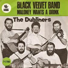 The Black Velvet Band 2021 single by The Dubliners