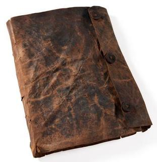 Early medieval psalter from Ireland