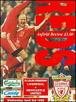Liverpool F.C. 4–3 Newcastle United F.C. (1996) Football match